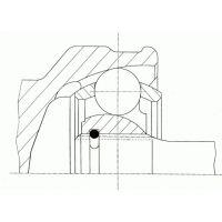 TOPRAN Automata váltó olajszűrő 304 729
