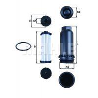 MAHLE ORIGINAL Automata váltó olajszűrő hx151kit