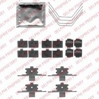 DELPHI Fékbetét tartozékkészlet LX0521