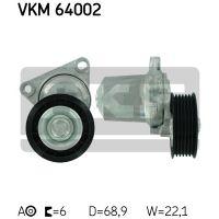 SKF Generátor/klíma szíj feszítőgörgő VKM 64002
